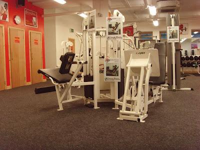 Gym Legs Area
