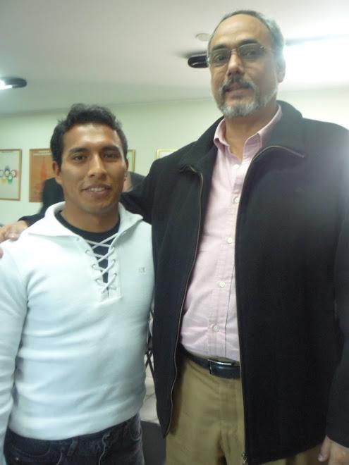 Manuel Burga Presidente de la Federacion Peruana de Futbol