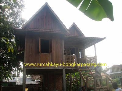 rumah kayu type 54