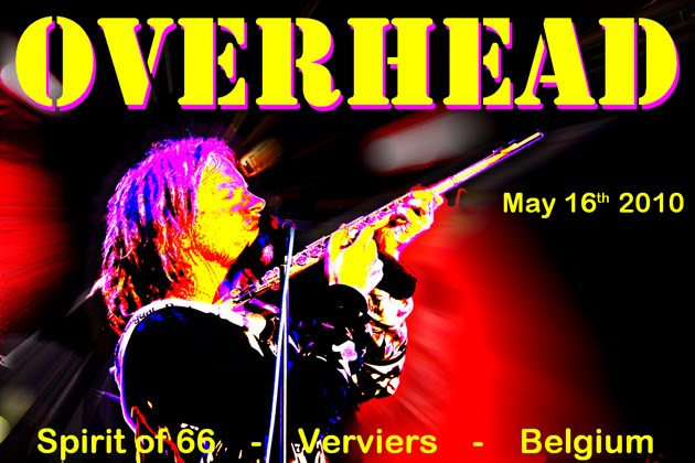 "Overhead (16/05/10) at the ""Spirit of 66"" in Verviers, Belgium."