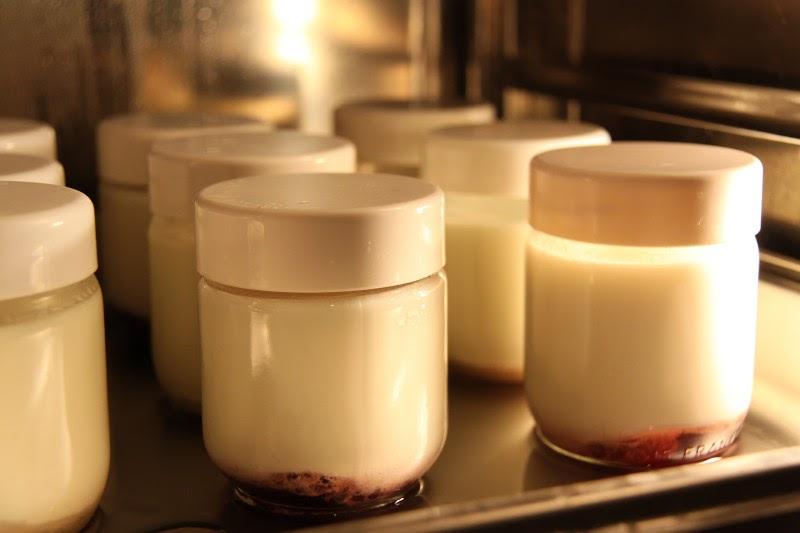 ma cuisine vapeur comparaison yaourts cr me de marrons au. Black Bedroom Furniture Sets. Home Design Ideas