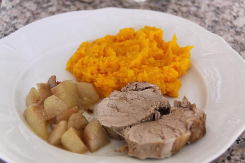 Ma cuisine vapeur filet mignon de porc aux poires et aux - Cuisine filet mignon de porc ...