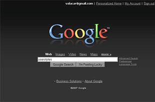 google black