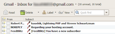 gmail feeds