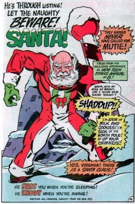 Beware! Santa!