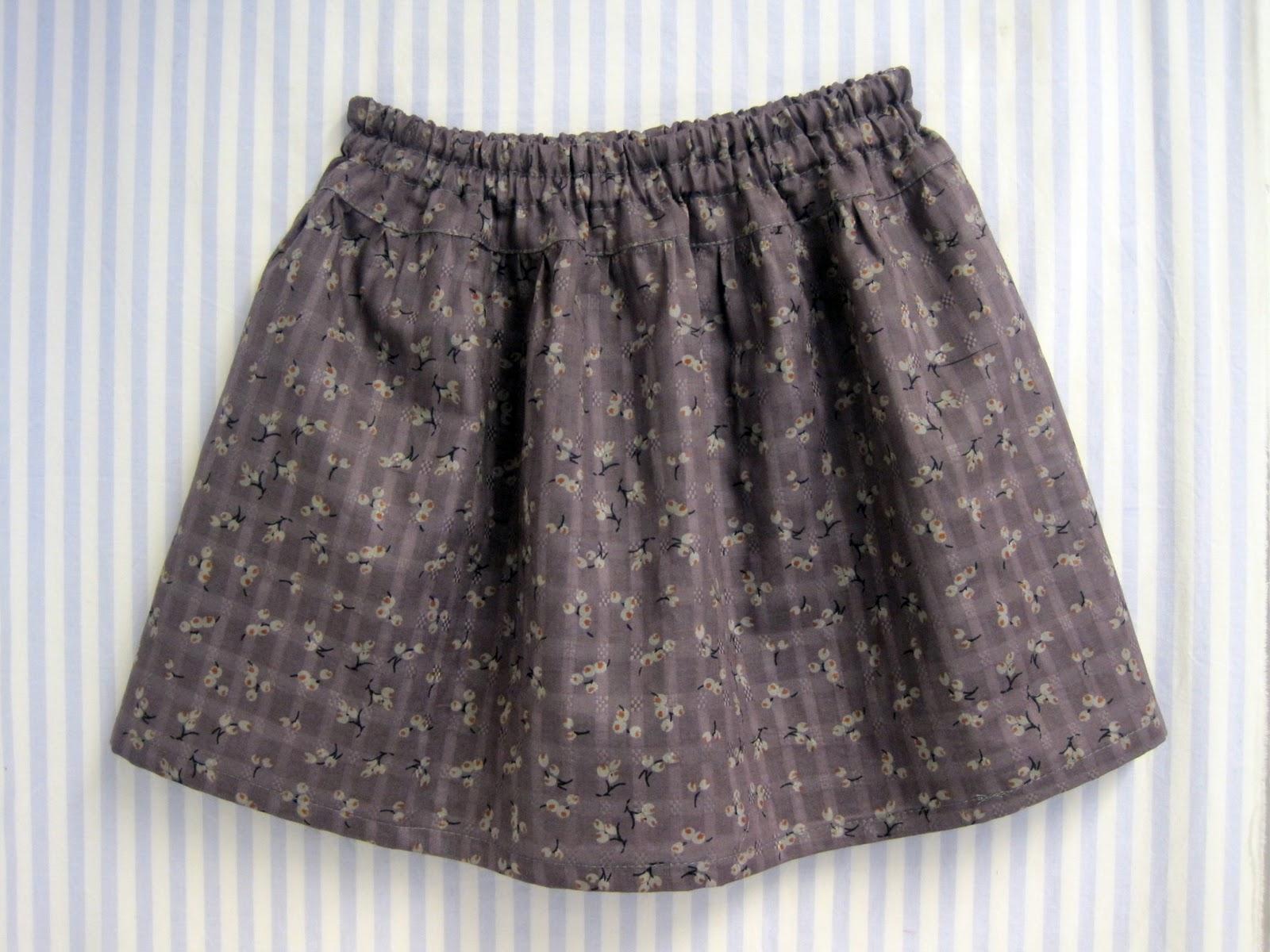 mønster til pige nederdel