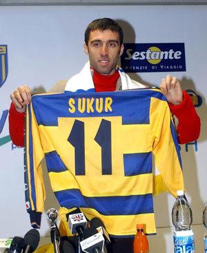 Hakan Sükür Parma AC 2002