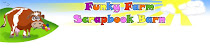 Funky Farm Scrapbook Barn
