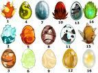 los 16 huevos
