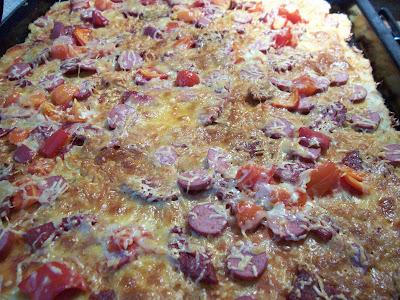 Bayat ekmekten pizza yapımı