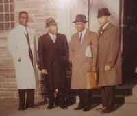 Kenneth Hagood, Dr. King, Rev. Joseph Lowery, Dr. Edward Hart