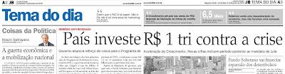 Jornal do Brasil, Crise Financeira