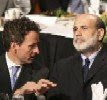 Ben Bernanke, Federal Reserve Chairman, Tim Geithner, Secretary of the Treasury