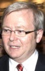 Kevin Rudd with Thérèse Rein