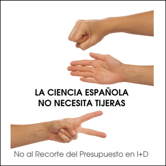 La ciencia española no necesita tijeras: NO al recorte de presupuesto en I+D