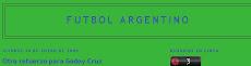 futbol argentino solo