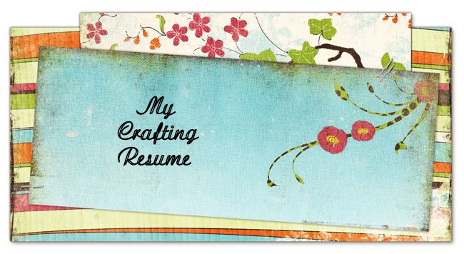 my crafting resume
