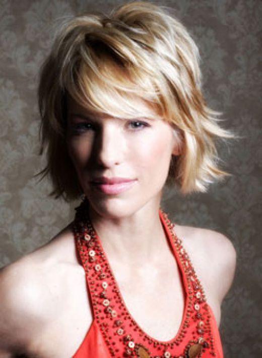 Maggie Q modern hairstyles