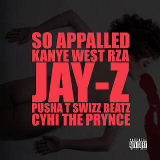 so+appalledkanye Kanye West – So Appalled ft. Jay Z, Pusha T, Swizz Beatz, Cyhi the Prynce