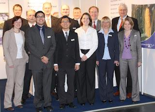 Wendy Rasmussen and David Mazawa represented Pickering Laboratories at Analytica in Germany