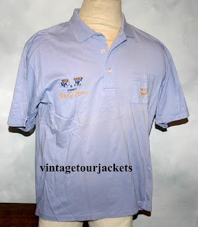 Vintagetourjackets michael jackson tour polo shirt 1990 for The tour jacket polo shirt