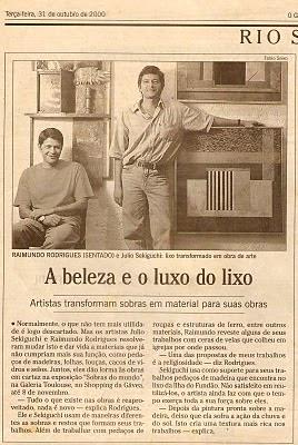 Raimundo Rodriguez - O Globo