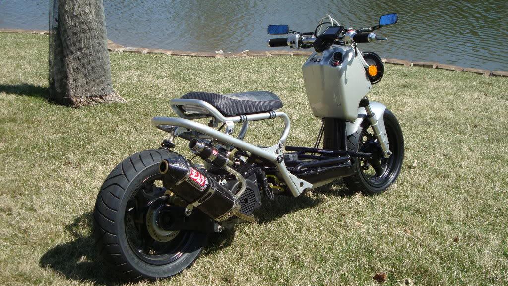96 mpg on a Vino 125: Honda Ruckus is nuts