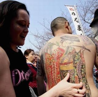 Japanese Kimono Tattoo Design