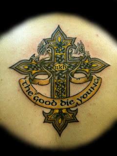 Celtic Cross Tattoos