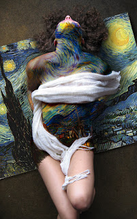 Starry Night Body Paint