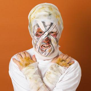 Halloween Face Painting Idea