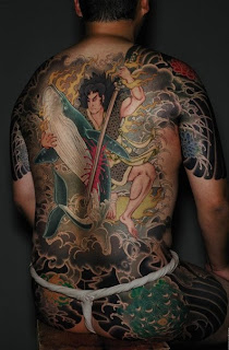 Yakuza Japanese Tattoo