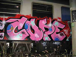 Graffiti Alphabet Bubble Style