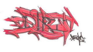 Red Graffiti Sketches