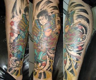 Japanese Samurai Tattoo Pictures