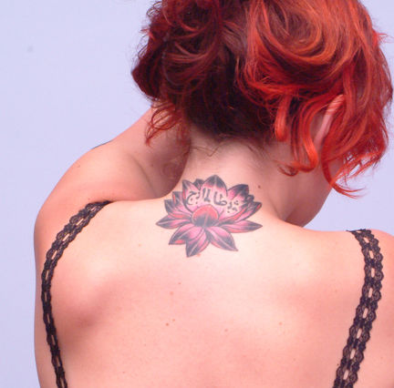 Lotus and peonies are flowers that are very popular among Japanese tattoo