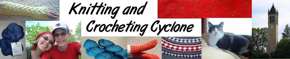Knitting and Crocheting Cyclone
