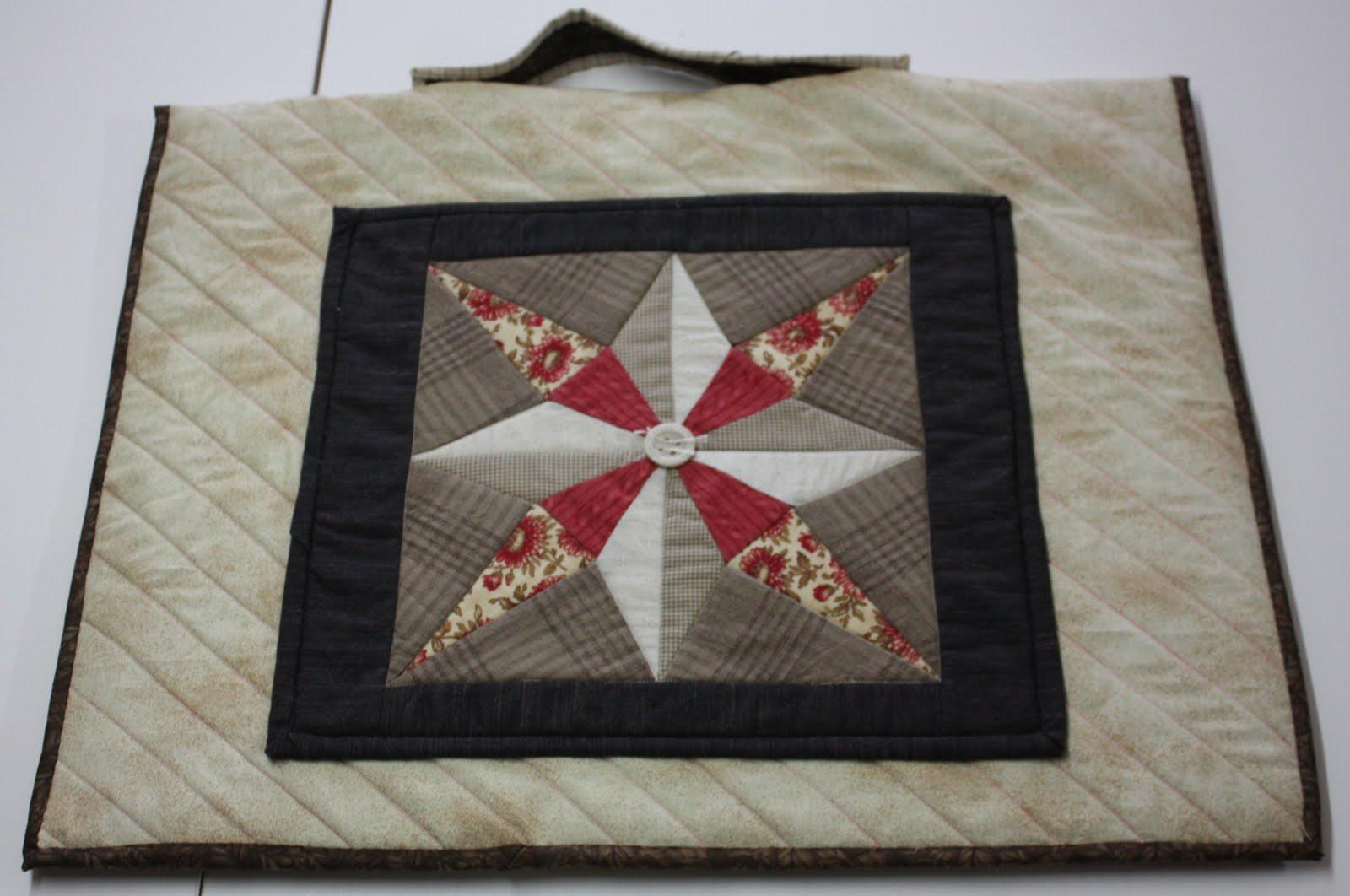 Quilt Tassen : Loppis en lapwerk quilt work tas