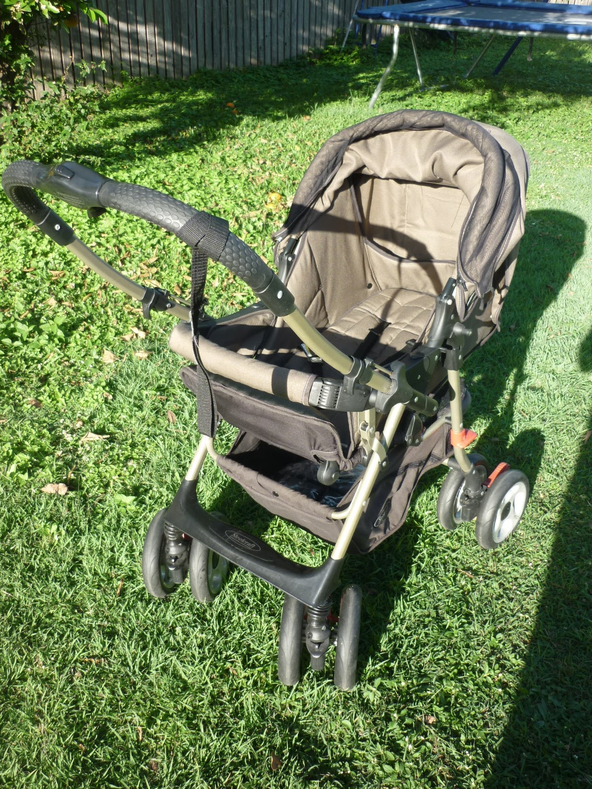 how to put down a steelcraft egnigma pram