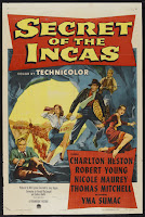 Secret of the Incas poster