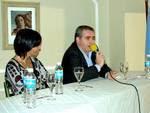 Dip Luis Ilarregui y Pres del Banco Nacion Marcó del Pont