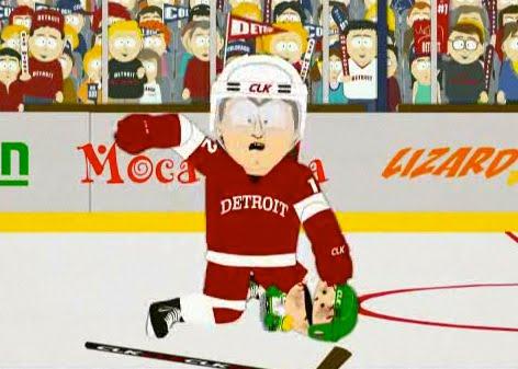 descriptive essay hockey game