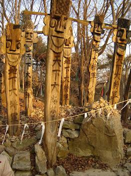 Korean Totem Poles