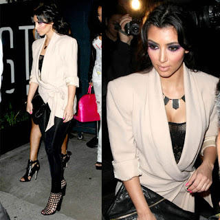 Kardashian Stylist on Monica Rose  Kim S Night Out At Stk