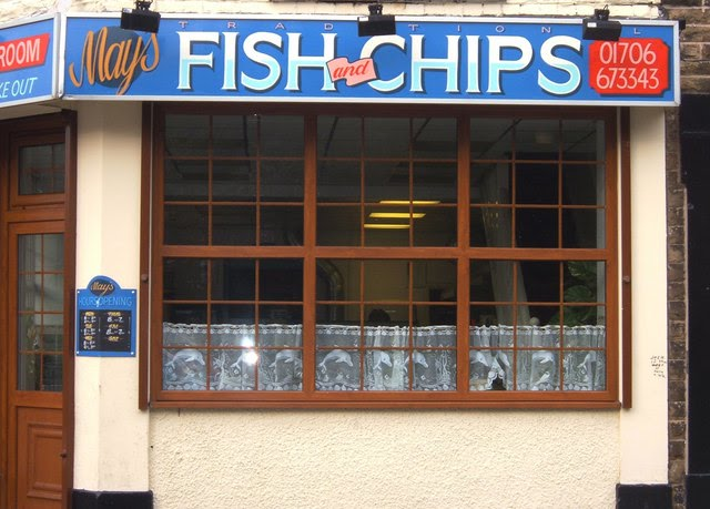 Fish and chip shop food retail alchemipedia for The fish shop