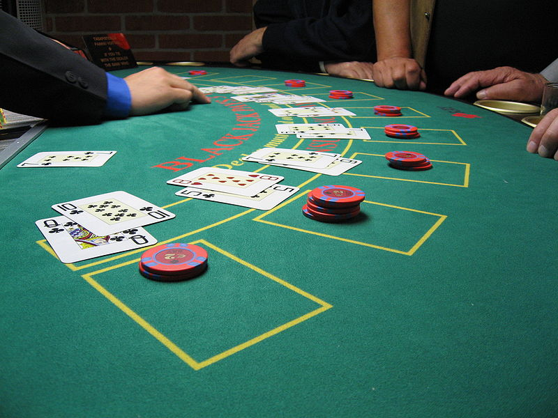 blackjack dealing