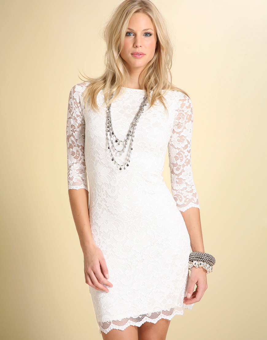 It must be fashion trend lace dresses