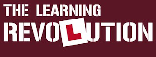 Graphic: Logo of the 'Learning Revolution' site