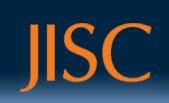 Graphic: The JISC logo.