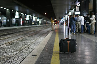 Image credit: 'Travelling suitcase on the station' by nojich on Flickr - By-NC-ND